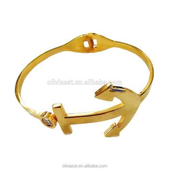 Olivia High Quality Stretch Bracelet Belize Bangle Stainless Steel Mens Solid Gold Bracelets 18k