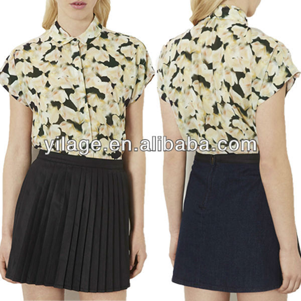 Hot Sale ! Fashion Casual ! Soft Floral Shirt for Woman Clothes