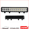 Battery powered double row 12 volt off road tractor 4x4 led bar light