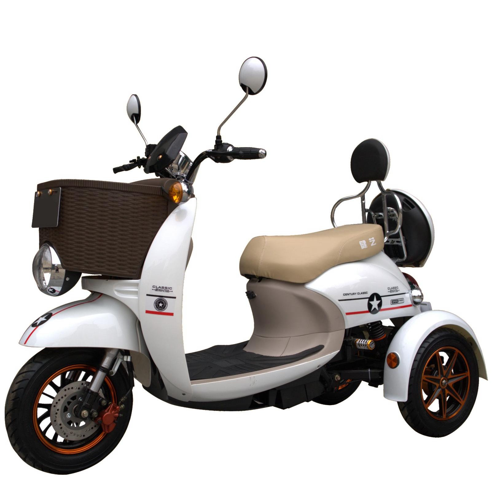 500 W 3 ruote elettrico disabili scooter cargo trike
