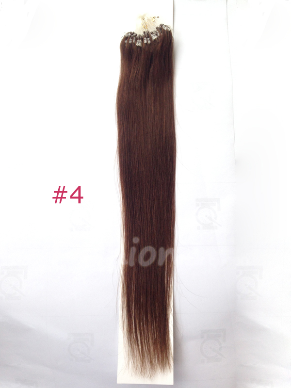 Buy 100 Brazilian Remy Real Human Hair Extensions Micro Ring Loop