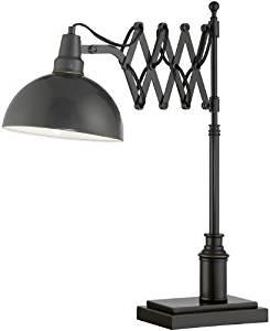 """Armstrong Desk Lamp, 23.25""""Hx20""""Wx8""""D, DARK BRONZE"""