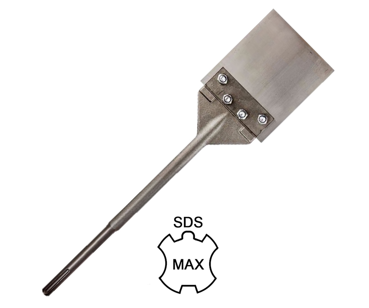SDS Max Floor Scraper Thinset Remover Chisel for Removing Floor Tile