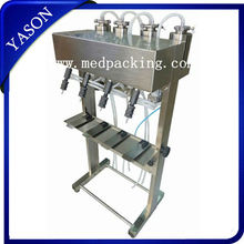 Yason Fast Delivery Four Heads Quantitative Perfume Filling Machine
