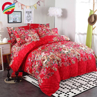 New style 100% printed cotton 3d duvet cover bedding sets