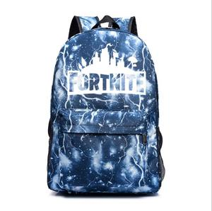Fortnite Newest Design Fashion Six Types Colorful Luminous Super Hot Game Travel Fortnite Backpack