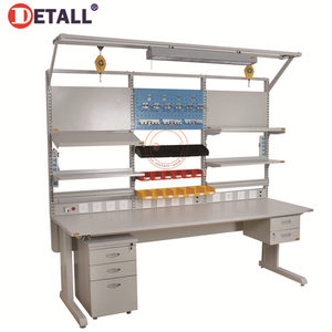 Detall- Movable Workbench Industrial Mobile Repair Work Table
