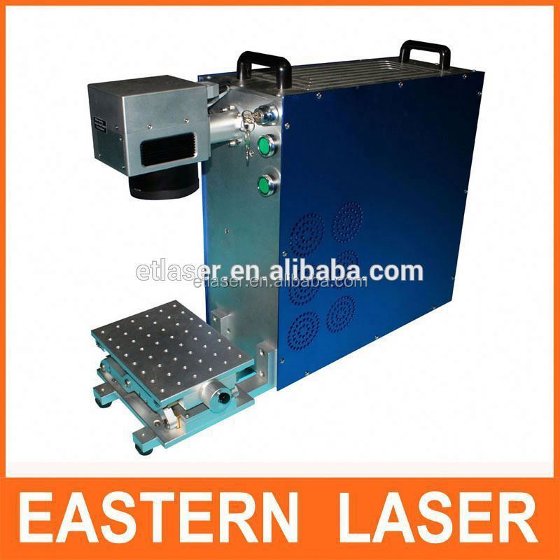 20W Mini Portable IPG Optical Fiber Laser Marking Machine For Brazil market