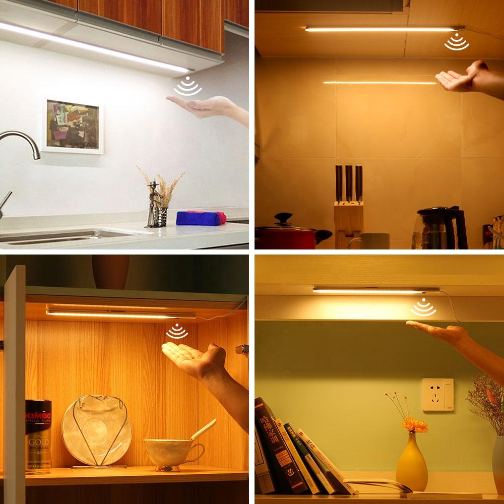 Most Popular 7w 12VDC Motion Sensor under cabinet led light for showcase