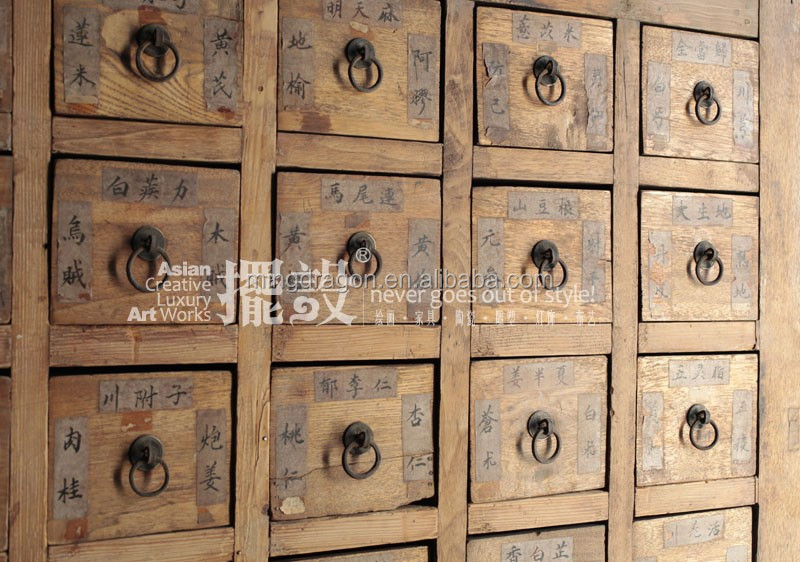 chinois meubles anciens nombreux tiroirs distressed. Black Bedroom Furniture Sets. Home Design Ideas