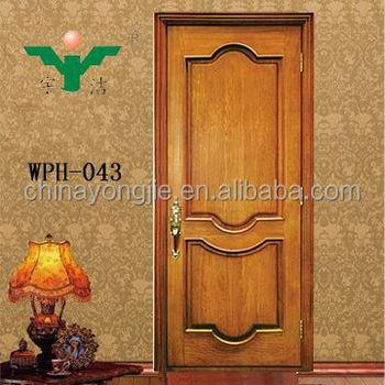 Hot Sale Mdf Wood Door Interior Bedroom Door Solid Wooden Doors