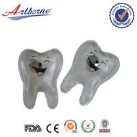 Artborne reusable tooth shape gel hand warmer promoting gift