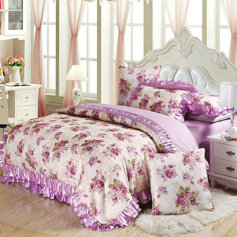 popular purple quilted bedspread buy cheap purple quilted bedspread lots from china purple. Black Bedroom Furniture Sets. Home Design Ideas