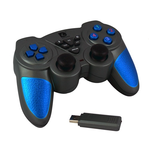 Wireless Bluetooth Gamepad for PC Computer USB Game Controller Multifunction Wireless 2.4G PC Gamepad High Quality