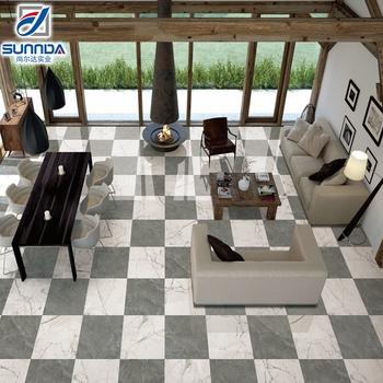 Cheap Price Vitrified Floor Tiles In India Light Carrara Marble