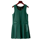 Reyrs New Recycled Fabric Design Healthy And Beautiful Sleeveless Dress School Girls Dress Colour
