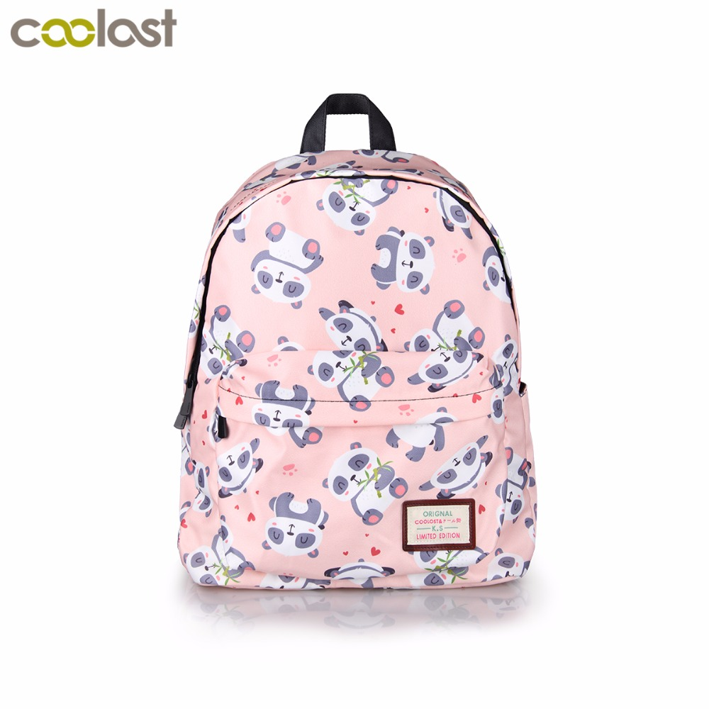 Kawaii Cartoon Panda Backpack For Teenage Girls Children School Bags Women Shoulder Bags Student School Backpack Kids Bookbag