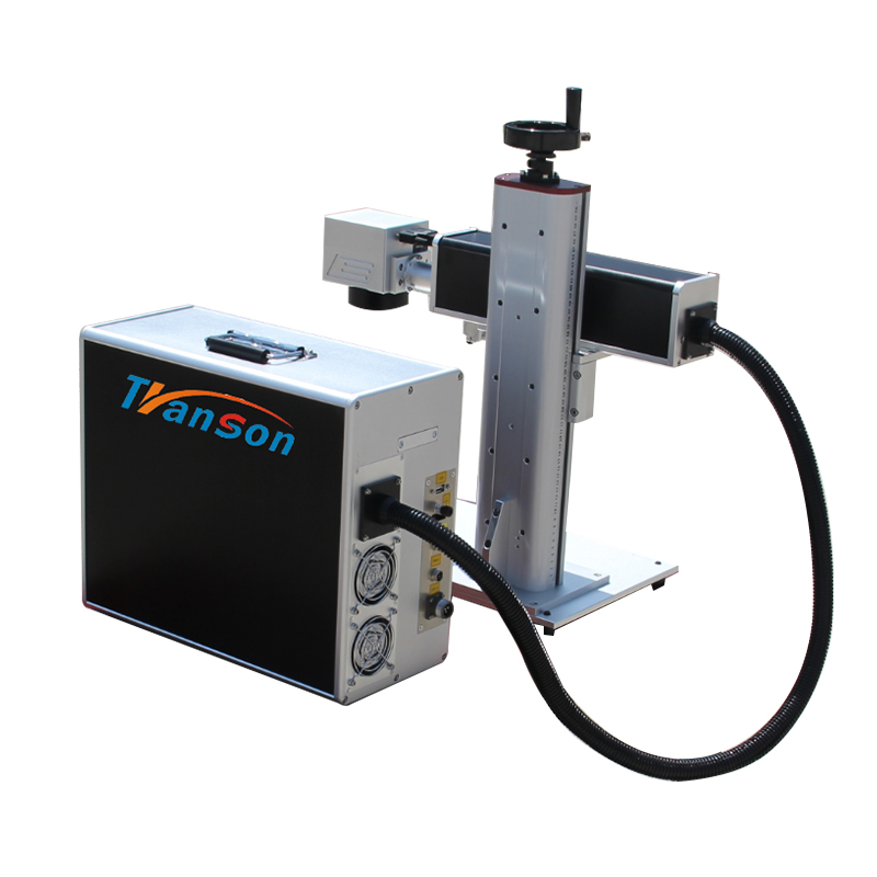 Mini fiber laser marking machine for stainless steel TSF20