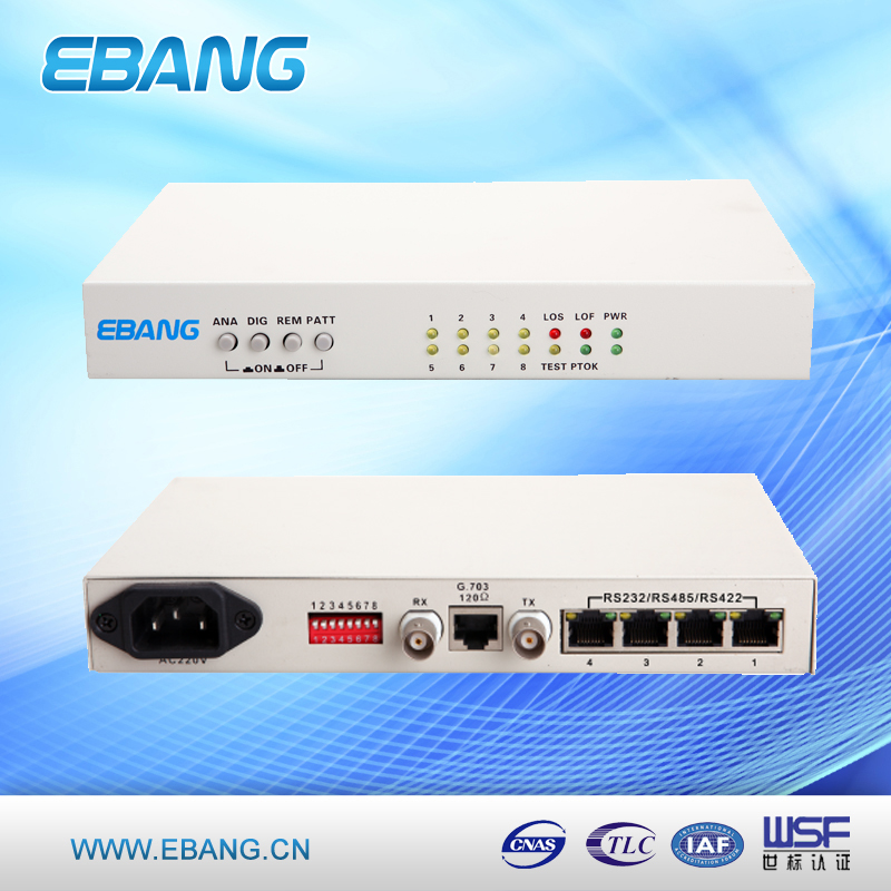 E1 to RS232/ RS485/ RS422 protocol converter E1 to data converter protocol converter
