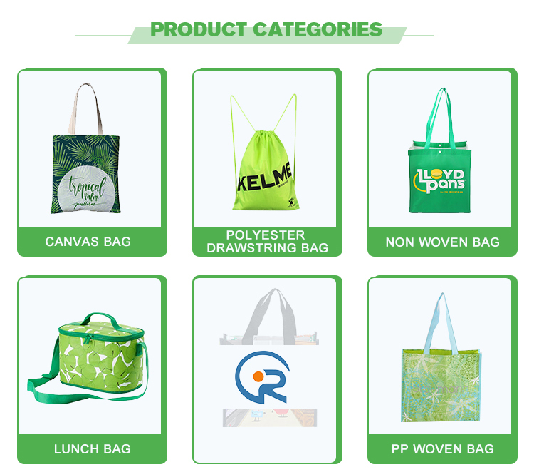 Durable Supermarket Reusable laminated printing pp Non Woven tote shopping bag
