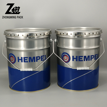 18L 20L 5 gallon tin secchio