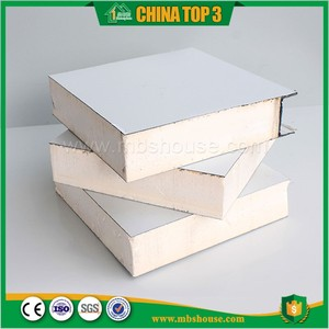PPGI Polyfoam EPS sandwich panel clean room wall panel
