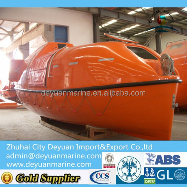 Comply With Solas Marine 7m Totally Enclosed Lifeboat For 45 ...