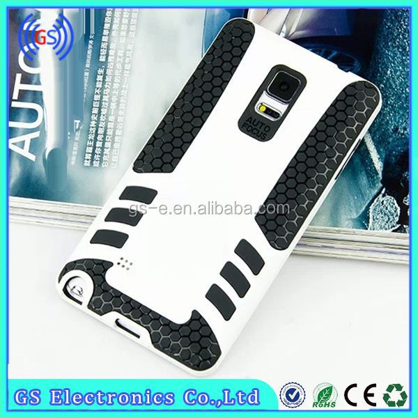 Rocket Design Rubber Defender Hybrid Cover Hard Rubber Gel mobile phone case for Iphone4S