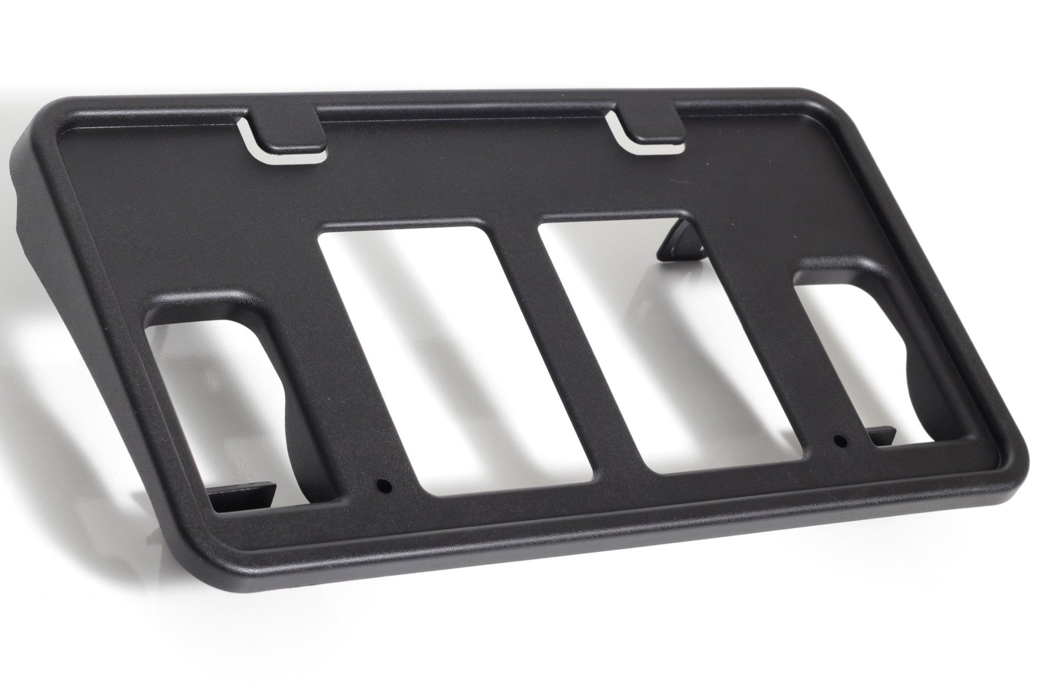 New for 2011-2014 Ford Edge Front Bumper License Plate Bracket Holder Plastic Black FO1068133 BT4Z17A385C