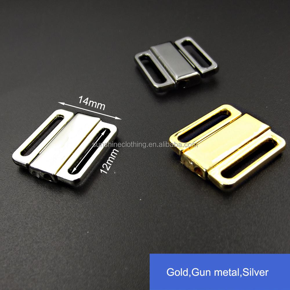 94b3ad994ac23 Swimwear Silver Metal Clasp12mm Bra Metal Closure Buckle - Buy Front ...
