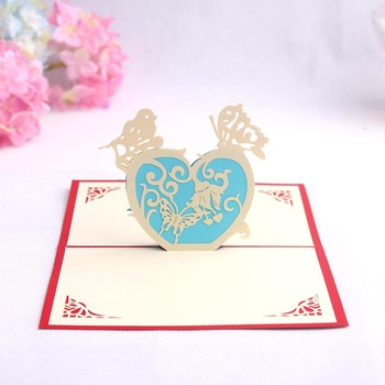 Sweet Romantic Creative Heart 3d Papercraft Origami Expressing Love