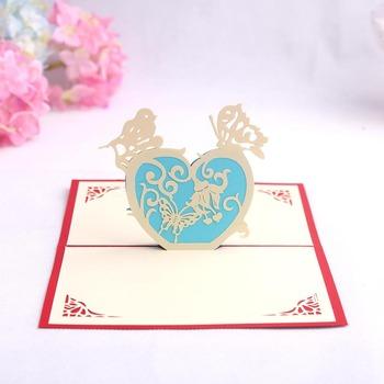 Sweet romantic creative heart 3d papercraft origami expressing love sweet romantic creative heart 3d papercraft origami expressing love custom made greeting card m4hsunfo