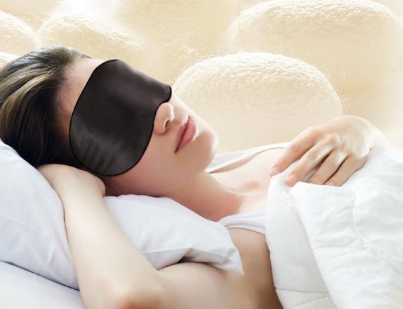 Luxury sleep mask/sleep eye masks/fancy sleep mask