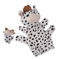Modern Cartoon Children Baby Toy 2 PCS Baby Kids Child Black White Milk Cow Animal Finger
