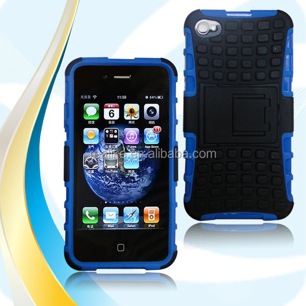 Factory sells for iphone 4/4s silicon case