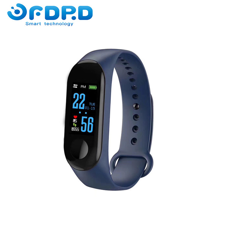 Fitness Bracelet Band 3 Big Touch Screen OLED Message Heart Rate  Mi Band 3 for Promotion Gift