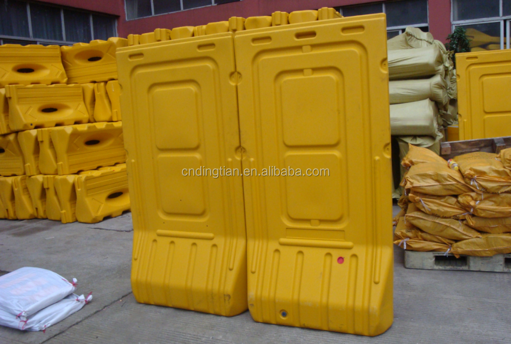 13kg weight folding safety barricade plastic parking barrier