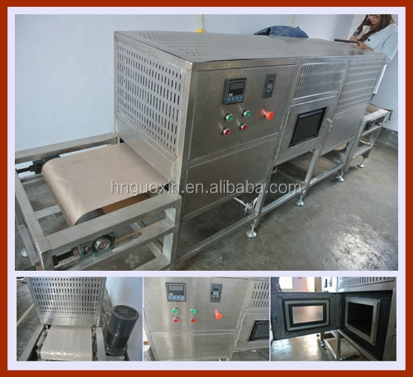 Professional Pecan Microwave Dryer Machine