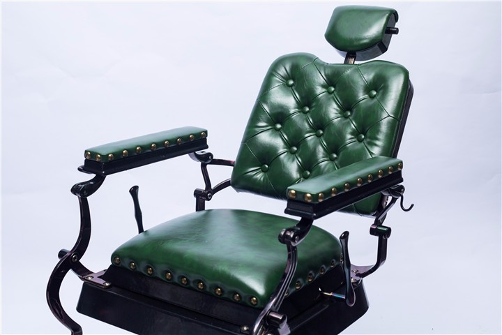 New style green durable heavy duty antique used classic vintage luxury  electric barber chair for sale - New Style Green Durable Heavy Duty Antique Used Classic Vintage