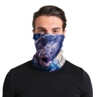 Custom Seamless Fishing Bandana Neck Scarf Face Shield