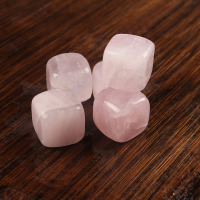 Trade Assurance Rose Quartz Whisky Rock Stone Cube dice ice cube wine stone