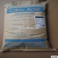 Chinese wholesale natural anhydrous organic citric acid