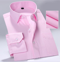 100% cotton polo solid long men shirt
