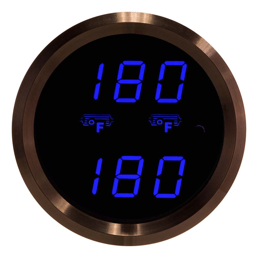 Auto Meter 4349 Ultra-Lite Electric Differential Temperature Gauge