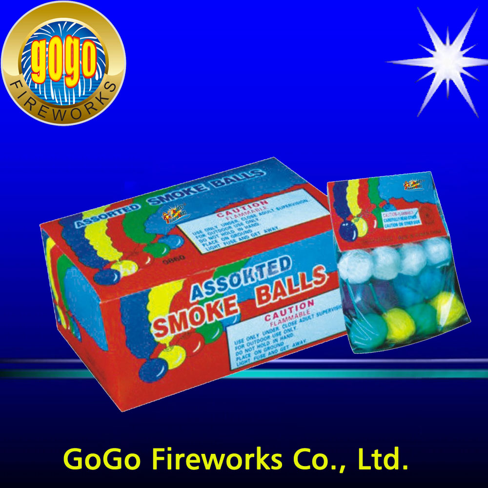 0806 Color Smoke Ball firework shell fireworks shells for sale pop pop snappers fireworks