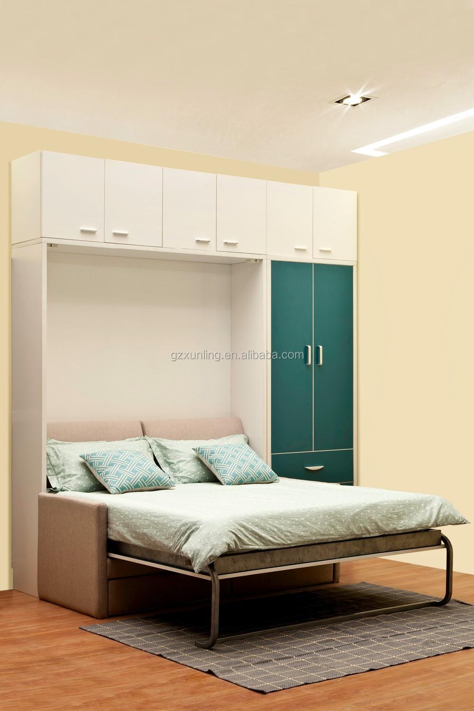 Modern Style Hidden Wall Bunk Bed Couch Murphy Bed Buy Modern Sofa Wall Bed Couch Murphy Bed