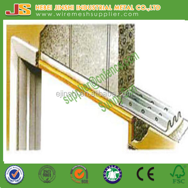 100mm hot dipped galvanized perforated cheaper building use W shape solid walls steel lintel channel lintel CL