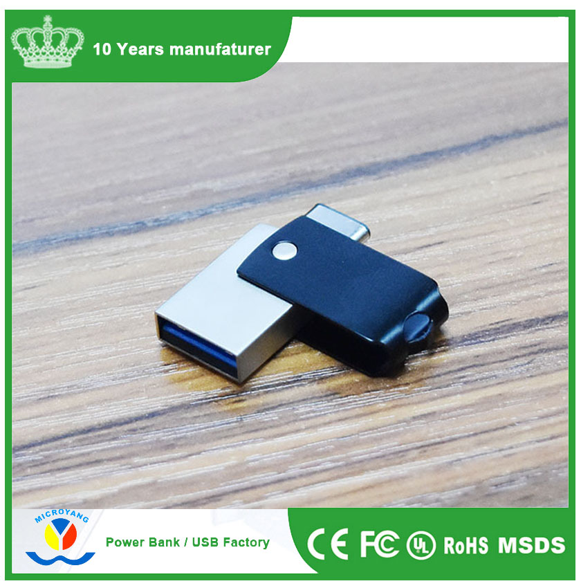 Wholesale price USB 3.1 type-C OTG USB flash drive 128GB 64GB 32GB 16GB