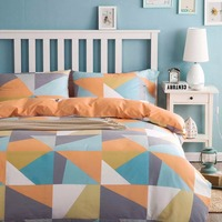 New Design Geometric Style 100% Cotton Bedding Set