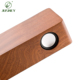 High tech bamboo wood NFC wooden speaker box Induction speaker